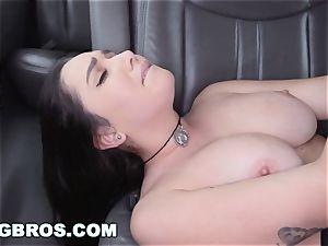 BANGBROS - massive melons pornographic star Karlee Grey on boink Bus