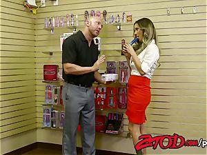 ZTOD - super hot chick boss pounded by stockboy