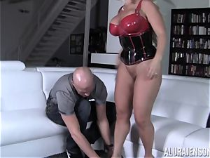 ultra-kinky Alura Jenson flashes her hubby a new side of her