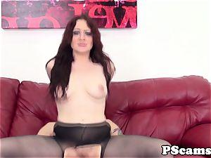 ginger-haired webcam honey Jessica Ryan pussyfucked