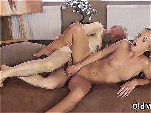 Bearded elder man ash-blonde and gal Sexual geography