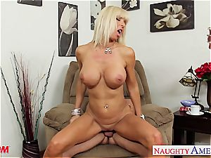 Pierced and tatted mummy Kasey Storm poking