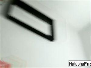 huge-chested Natasha Shoots A fun And luxurious dark-hued Light movie