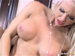 Alix Lynx and Peta Jensen give this boy a steamy surprise