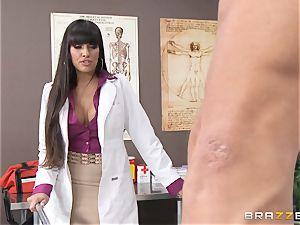 doc Mercedes Carrera works wonders with her breasts