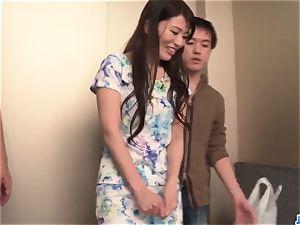 Nana Nakamura acts horny and sensual in top three