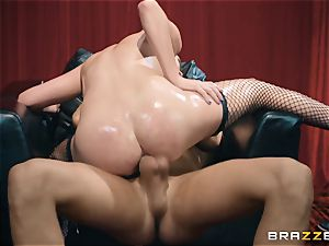 Smoking super-fucking-hot Jessica Rex in underwear