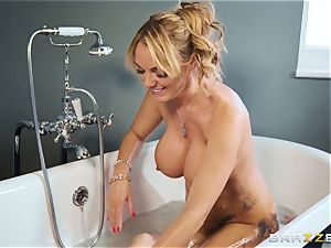 lewd cougar Rebecca Moore and her daughter want youthful boy's thick hard-on