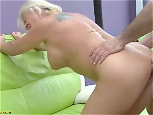 uber-sexy 73 years old mommy very first thick hard-on ass fucking penetrate