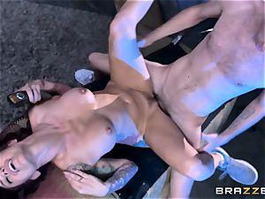 giving it deep into the pornographic star of Monique Alexander