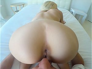 Alex Grey poked in her uber-sexy honeypot point of view style
