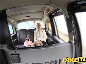 fake taxi ash-blonde loves elderly studs in backseat of cab