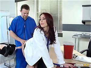 fabulous physician Monique Alexander plumbs her trainee