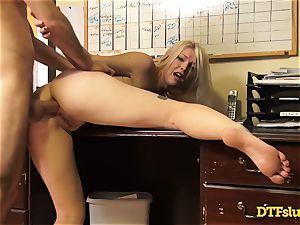 assfuck drilled Ella Nova by hung James Deen
