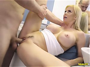 outstanding fuckfest with kinky massive cupcakes milf Alexis Fawx and her stepson