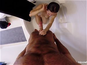 wet point of view douche fuckfest with Nicole Aniston
