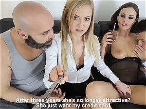 LOS CONSOLADORES - sizzling swinger fourway with warm honies