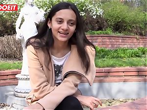 LETSDOEIT - crazy teenager likes touching Her pleasure button to ejaculation