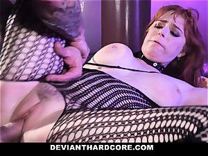 DeviantHardcore - super-fucking-hot redhead Gets hatch boinked