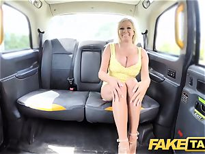 fake taxi fat melons platinum-blonde Michelle Thorne