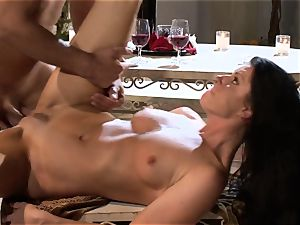 India Summers India Summers is liking the meaty stiffy pleasing her torrid slit har