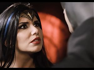 Justice League hard-core part 5 - Hero hook-up with Romi Rain