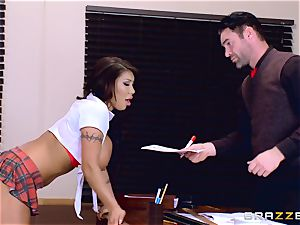 buxom stunner Angelica Taylor banged by her professor