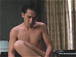 smallish knocker asian sweetheart gets her wooly honeypot pleasured