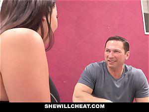 SheWillCheat cheating girlfriend Karlee Grey ravages Trainer