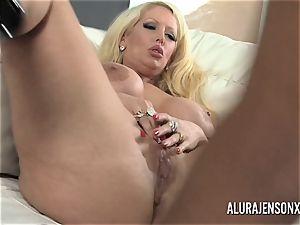 large titty pornstar Alura Jenson luvs massive dark-hued man sausage