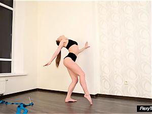very super hot diminutive Gymnast Anna