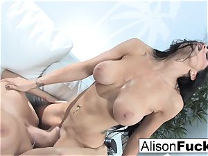 Alison and Romi bang for the very first time
