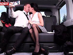 LETSDOEIT - Czech hotty Rocks taxi Drivers World