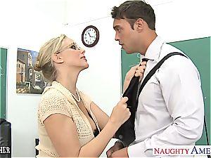 lovemaking teacher Julia Ann tearing up