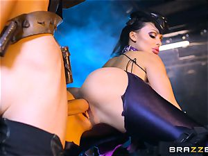Aletta Ocean inserted with the monster lollipop of Danny D