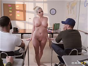 Christie Stevens bent over and banged doggie-style