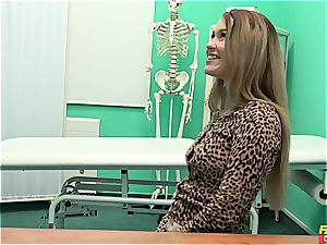Misha Cross gets boinked by her physician