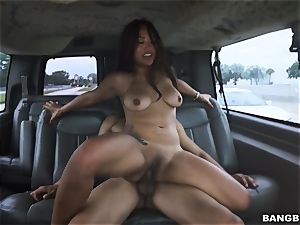 chinese stunner picked up and fucked