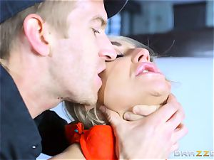 Frustrated wifey Kayla Green gets Danny Ds meaty hard-on