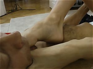 Doris Ivy pounded in her butt-hole