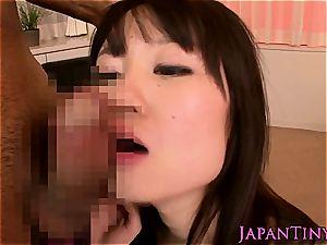 chesty japanese female gangbanged