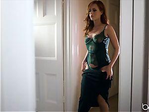 bbc for ultra-kinky redhead Ella Huhges