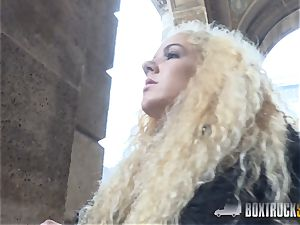 amazing Monique forest likes rough lovemaking in Public