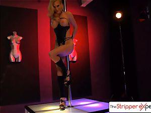 The StripperExperience- Sarah Jessie penetrating a huge manhood