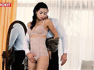 LETSDOEIT - horny couple Has Retro wish harsh fucky-fucky